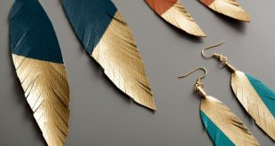 Hottest Long Feather Earrings: Great Colors