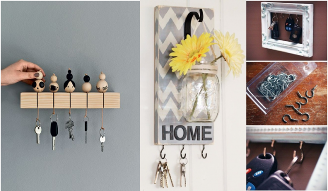 Keyholders-3-675x393 10 Awesome Decor Ideas to Borrow from Pinterest Influencers