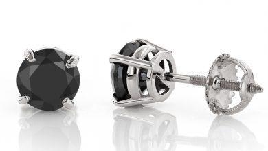 Photo of Latest Fashion Black Diamond Earrings For Women