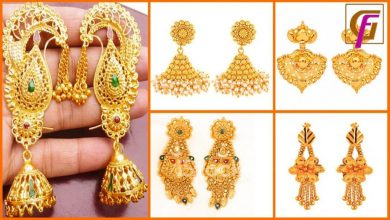 Photo of Top 10 Latest Gold Earrings Designs