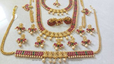 Photo of Latest Indian Wedding Jewelry Sets and Designs For Brides