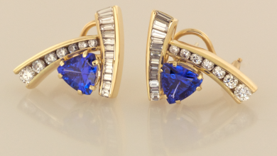 Photo of Latest Signature Diamond Earrings For Women