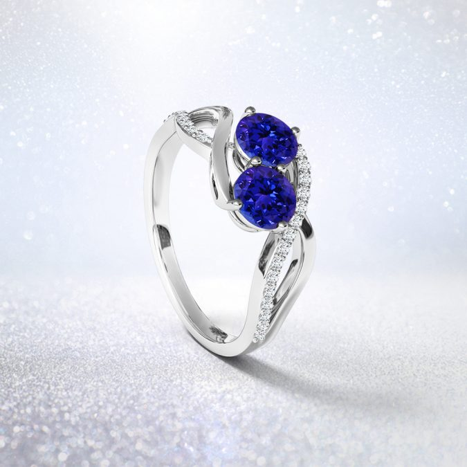 Pouted_Two-Stone-675x675 7 Engagement Ring Trends You Shouldn't Miss