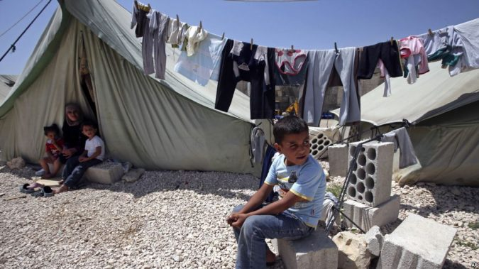 Refugee-camp-in-Lebanon-675x379 Best 7 Solar System Project Ideas