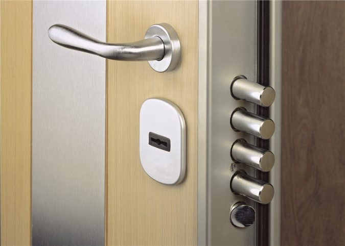 Security-Door-675x482 5 Ways For a More Secure Home