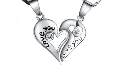 Photo of Sterling Silver Heart Necklaces For Women: HOT Designs!