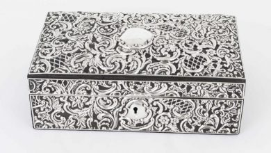 Photo of Sterling Silver Jewelry Boxes