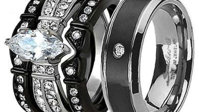 Photo of Top Designed Titanium Wedding Ring Sets