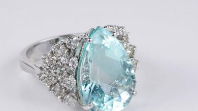 Photo of Top Ranked Aquamarine Cocktail Rings