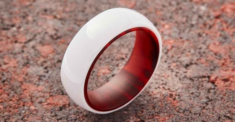 Photo of Best 23 White Ceramic Wedding Bands for Men