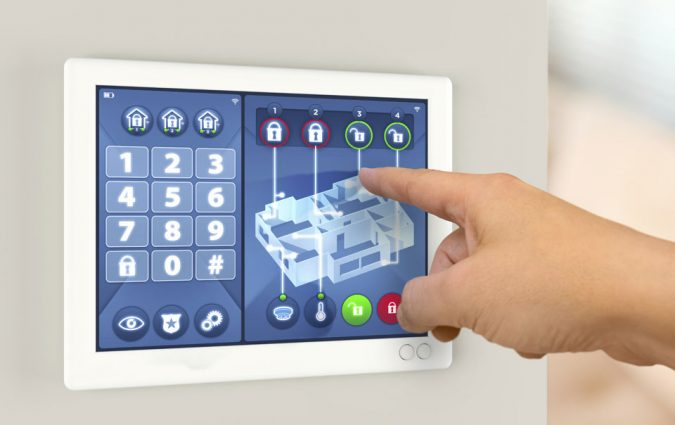 alarm-system-675x425 5 Ways For a More Secure Home
