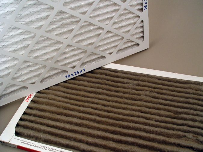 dirty-air-filter-675x506 Air Filter Sizes and Maintenance for Your Home