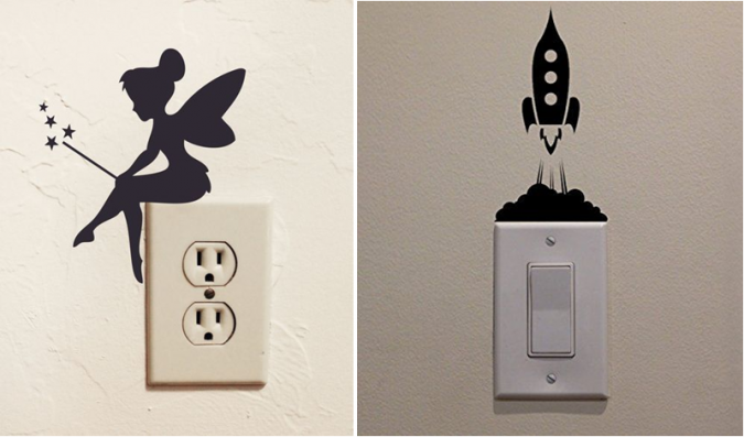 home-decoration-electricty-switch-buttons-decoration-675x397 10 Awesome Decor Ideas to Borrow from Pinterest Influencers
