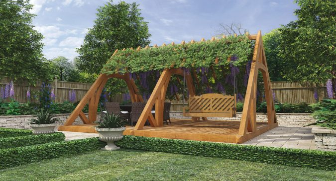 home-garden-design-wooden-swing-675x364 10 Garden Trends around the World that You Haven't Heard of