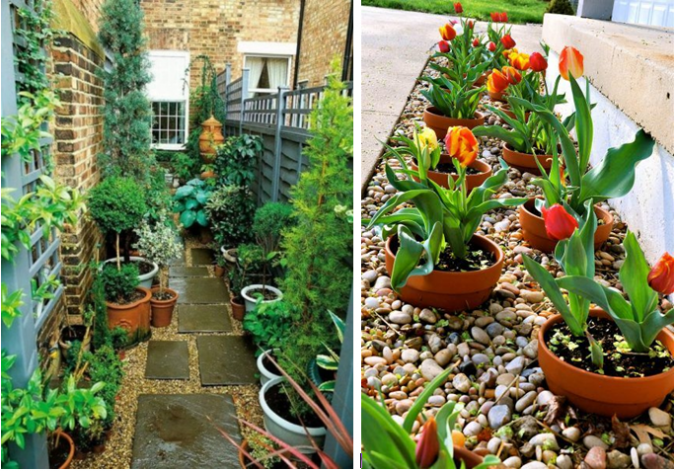 home-gardens-plant-pots-675x471 10 Garden Trends around the World that You Haven't Heard of