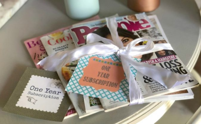 magazine-Subscription-cards-free-printables-corporate-gifts-675x415 10 Branded Gifts & How They Build the Company's Reputation