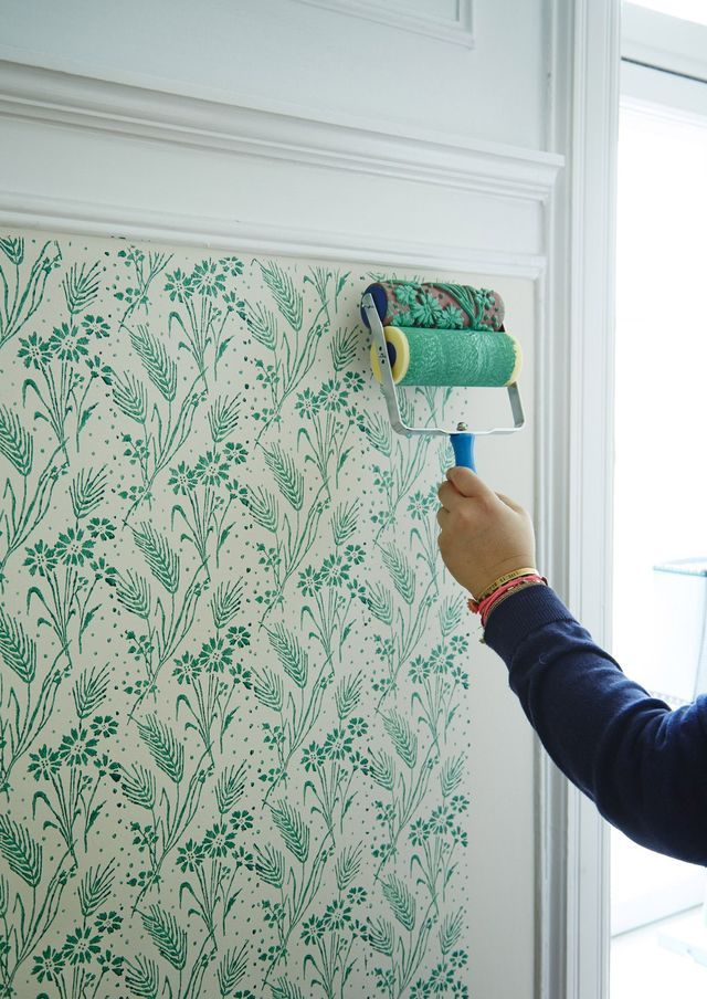 painting-patterned-wall 10 Awesome Decor Ideas to Borrow from Pinterest Influencers