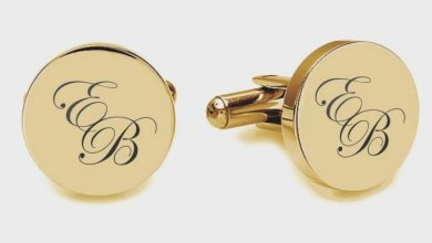 Photo of personalised cufflinks for men
