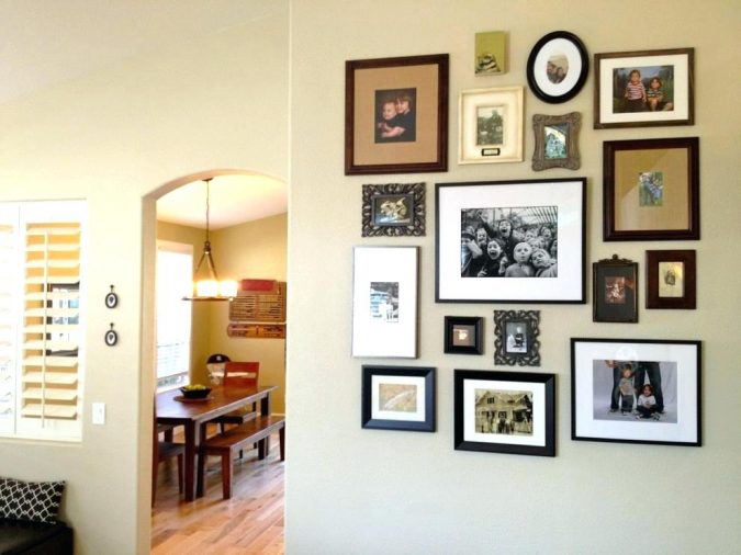 photo-frames-home-decoration-2-675x506 10 Awesome Decor Ideas to Borrow from Pinterest Influencers