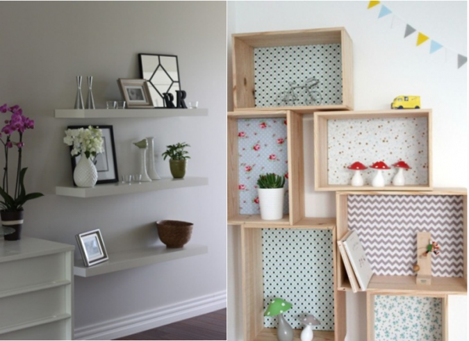 shelves-home-decoration-2-675x491 10 Awesome Decor Ideas to Borrow from Pinterest Influencers