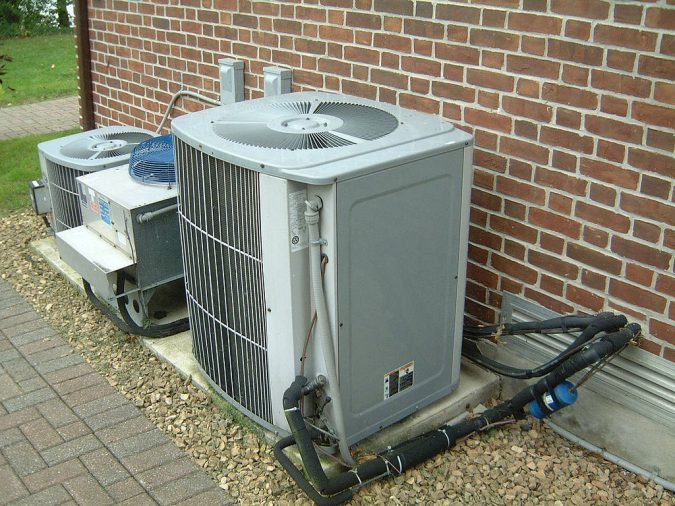 Air-Conditioner-Condensate-Drain-Line-675x506 Fast Repairs for Leaking Central Air Conditioning Systems