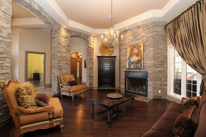 Dark-Wood-Floors-living-room-home-decoration-675x450 10 Wood Floors Design Ideas for Living Rooms
