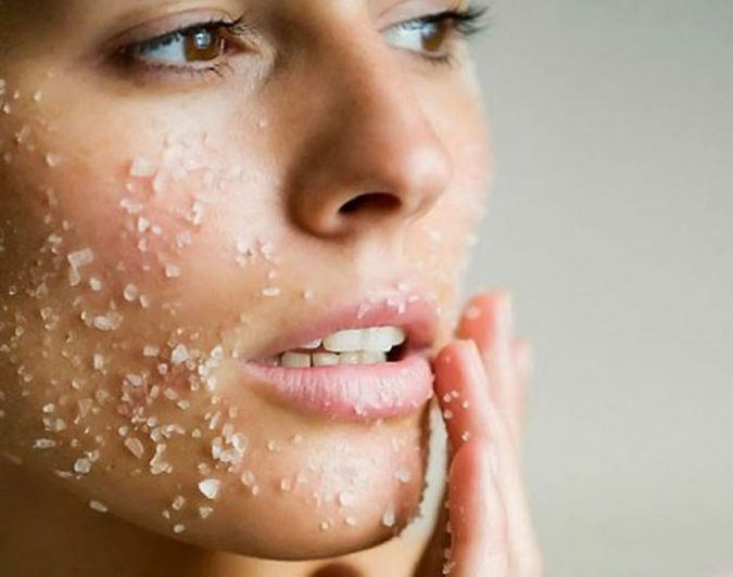 Epsom-Salt-face-exfoliation-675x532 Top 10 Fastest Getting-Rid of Blackheads Ways