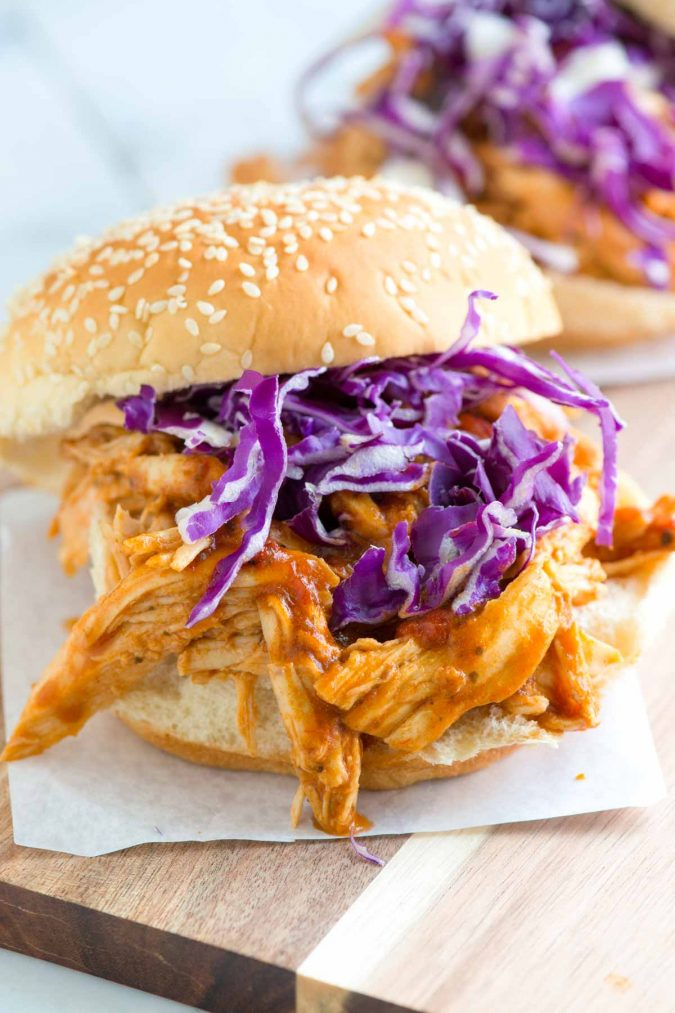 Pulled-Chicken-Sandwiches-675x1013 Delicious Finger Foods You Won't Be Able to Resist