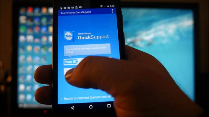 TeamViewer-app-on-smartphone-675x380 Top 5 Productivity Apps You Must Have on Your Devices