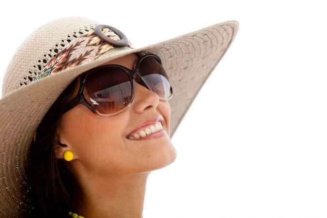 Wearing-Sunglasses-675x450 10 Tips to Get Rid of Under Eye Lines and Wrinkles