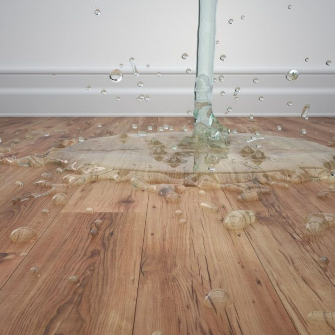 air-conditioner-Water-leak-flooring-675x675 Fast Repairs for Leaking Central Air Conditioning Systems