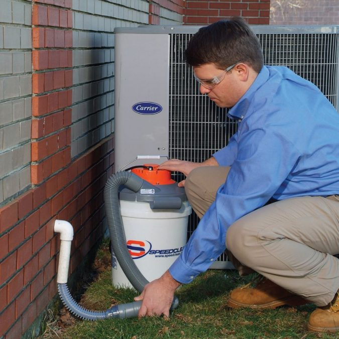 air-conditioner-condensate-drain-tool-hvac-drain-cleaning-tool-675x675 Fast Repairs for Leaking Central Air Conditioning Systems