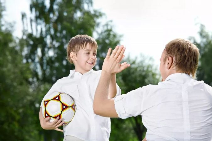 gather-and-son-playing-football-675x450 5 Things to Know about the Parent-Child Relationship
