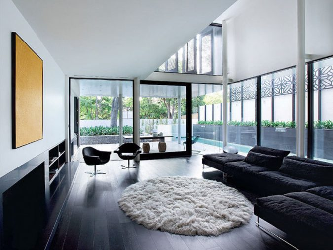 home-decoration-living-room-wooden-floor-2-675x506 10 Wood Floors Design Ideas for Living Rooms