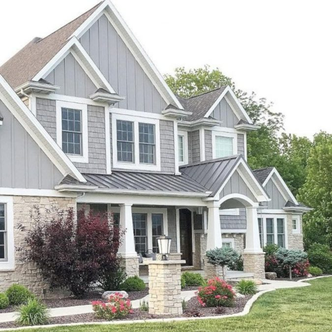 home-exterior-grey-pastel-675x675 4 Ways to Reinvigorate Your Curb Appeal