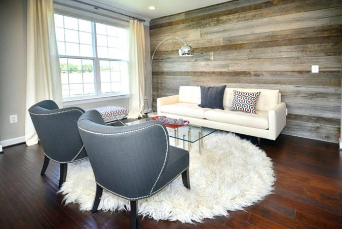 living-room-home-decorating-wooden-walls-and-floor-675x452 10 Wood Floors Design Ideas for Living Rooms