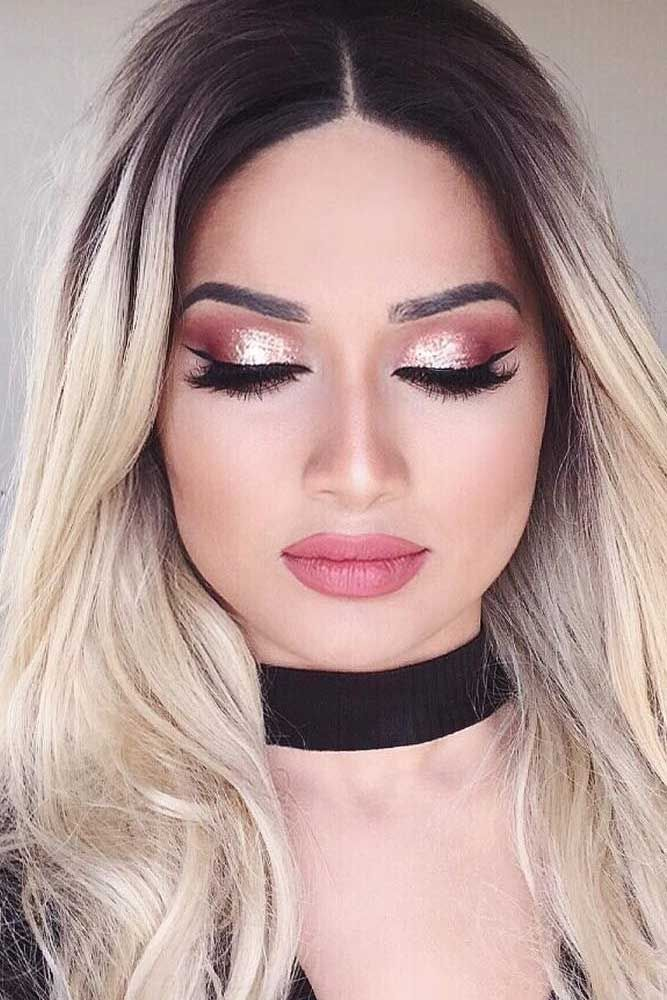 prom-makeup-ombre-eye-makeup 10 Most Creative Prom Makeup Ideas That Are Trending