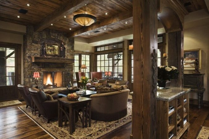 wood-living-room-home-decoration-675x450 10 Wood Floors Design Ideas for Living Rooms