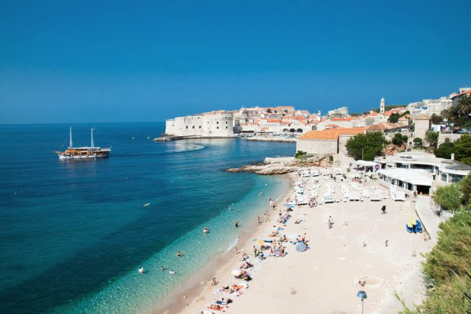 Banje-Beach-Dubrovnik-Croatia-675x450 Best 10 Dubrovnik Scenes & Beaches that Attract Tourists