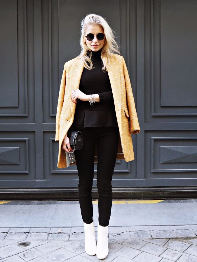 Cute-Winter-Outfit-white-boots-675x900 80 Elegant Fall & Winter Outfit Ideas 2020