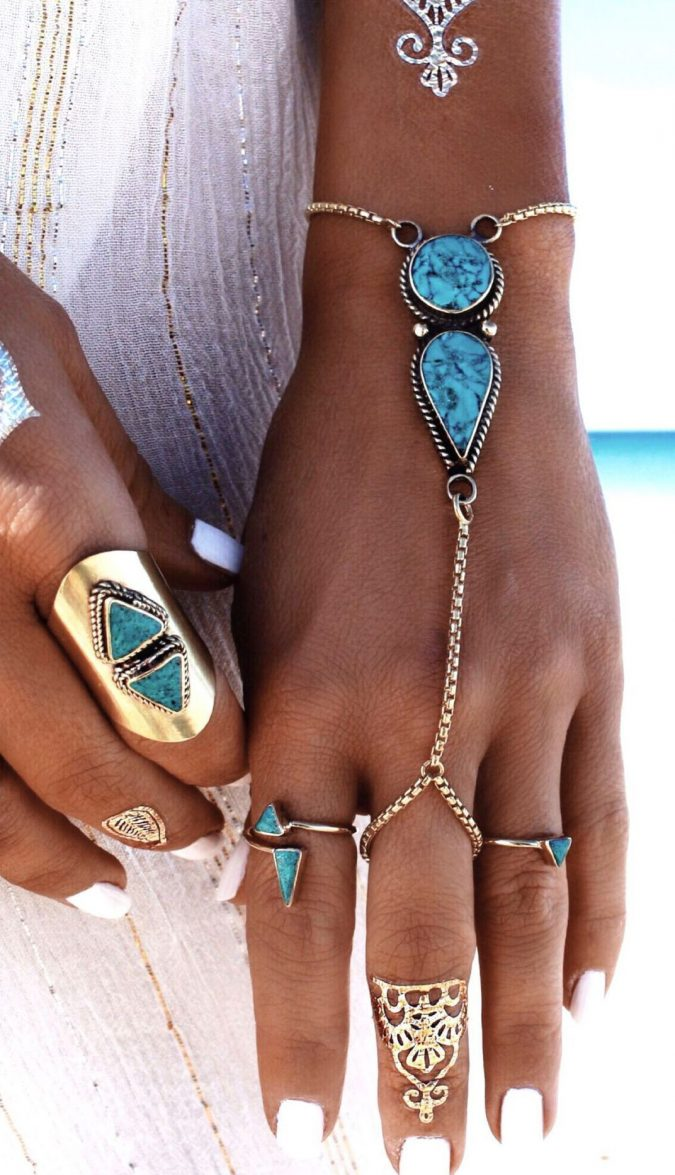 Summer-Jewelry-Boho-Turquoise-675x1175 Top 5 Hottest Summer Jewelry Trends