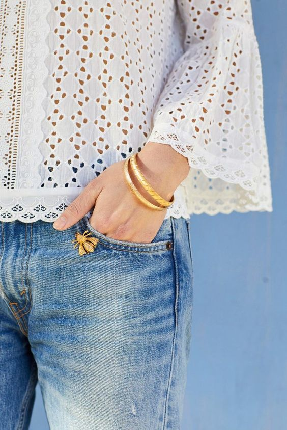 Summer-Jewelry-Statement-InsectBrooches Top 5 Hottest Summer Jewelry Trends