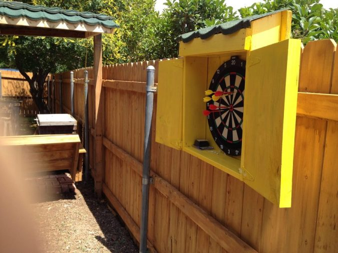 Best Outdoor Dartboard Pouted, Outdoor Dartboard Cabinet Cover