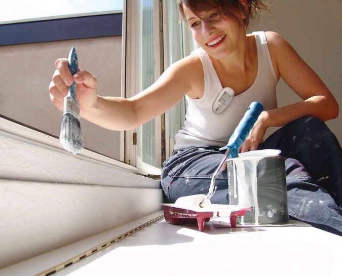 fixing-home-woman-painting-675x545 How to Prep for a Successful Home Walk-Through with Ease