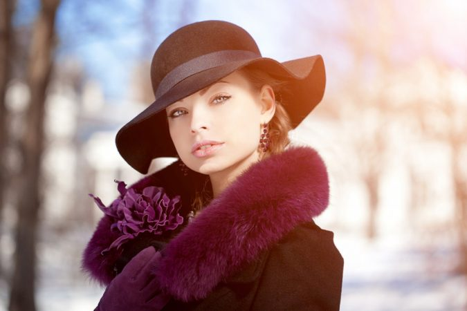 headwear-winter-fashion-2018-675x450 80 Elegant Fall & Winter Outfit Ideas 2018/2019