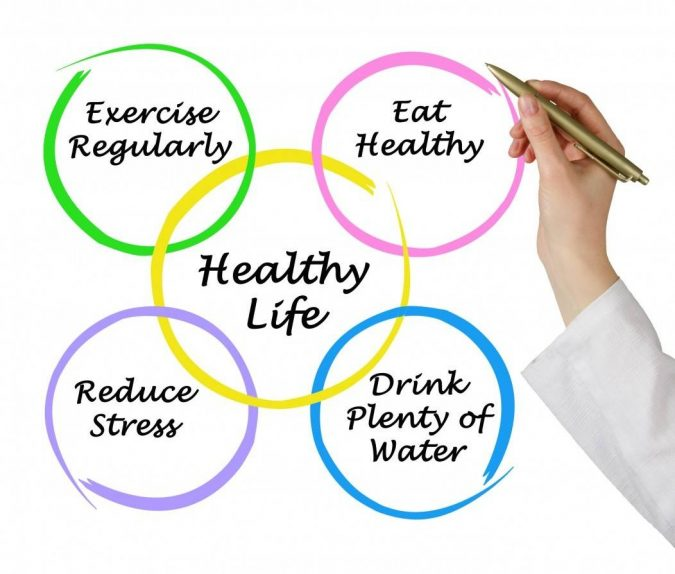 healthy-life-habits-675x574 8 Keys to Set Health Goals and Achieve Them
