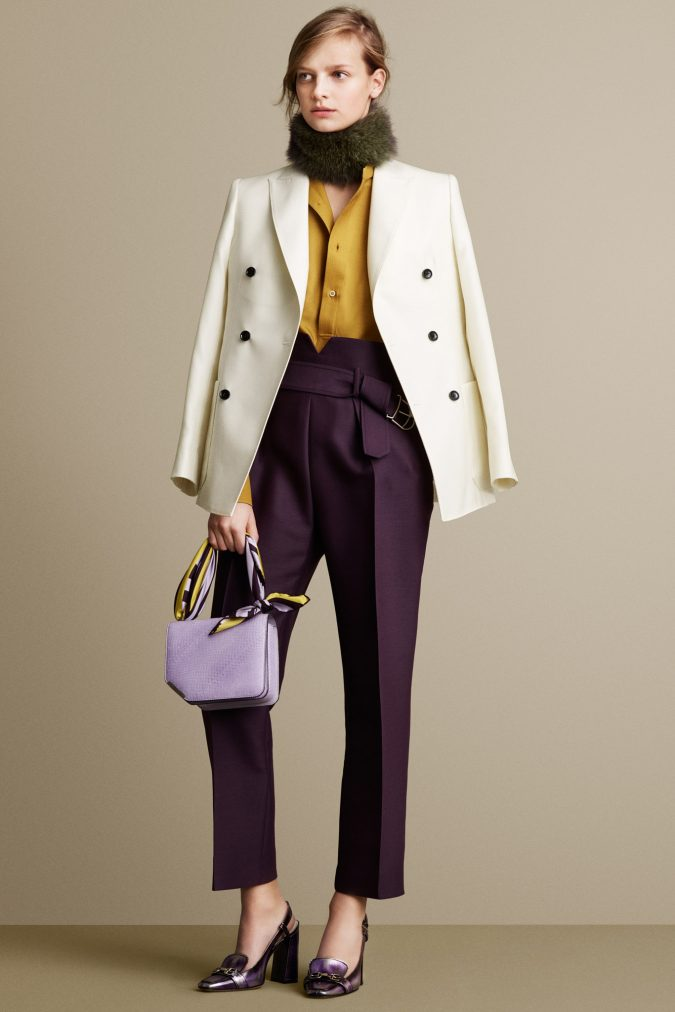 outfit-Bally-Fall-WInter-2015-2016-675x1012 70+ Elegant Winter Outfit Ideas for Business Women in 2019