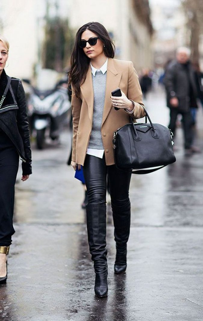 outfit-bag-boots-winter-2018-675x1069 80 Elegant Fall & Winter Outfit Ideas 2020