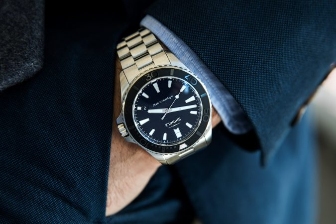 shinola-watch-for-men-675x450 How to Choose the Perfect Watch for Your Groom