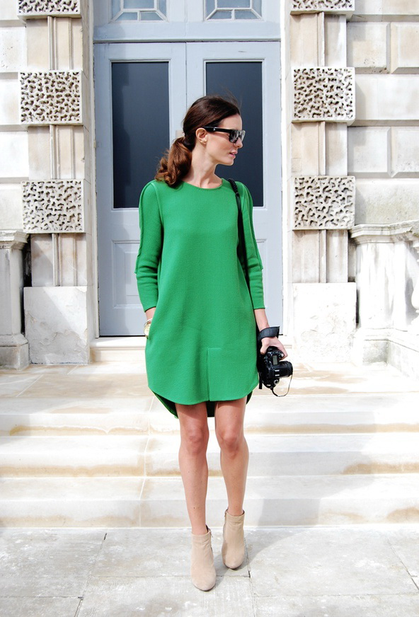 winter-outfit-Womens-Office-Wardrobe-Looks-In-Emerald-Green-Shades 80 Elegant Fall & Winter Outfit Ideas 2018/2019